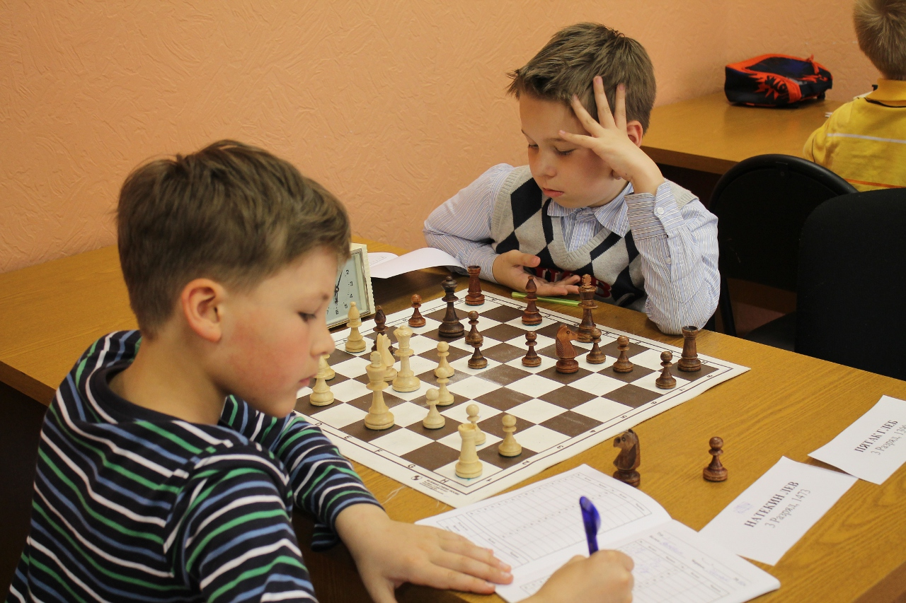 Фото детей и шахматы